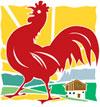 Urlaub auf dem Bauernhof - Roter Hahn